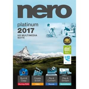 Nero 2017 Platinum - CD/DVD Burning - PC - Bilingual