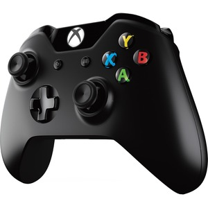 Microsoft Xbox One Wireless Controller (2016 Version, Black)