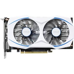 Asus DUAL-GTX1050TI-4G GeForce GTX 1050 TI Graphic Card - 1.29 GHz Core - 1.39 GHz Boost Clock - 4 GB GDDR5 - PCI Express 3.0 - Dual Slot Space Required - 128 bit Bus Width - Fan Cooler - OpenGL 4.5, DirectX 12 - 1 x DisplayPort - 1 x HDMI - 1 x Total Num