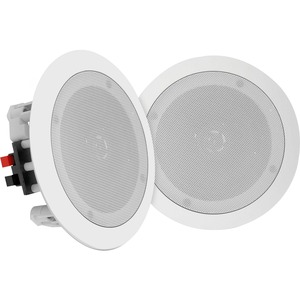 """Pyle 5.25"""" In-Wall / In-Ceiling 2-Way Flush Mount Home Speakers, Pair"""