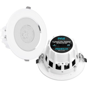 Pyle 3.5'' Bluetooth 2-Way Aluminum Frame Ceiling/Wall Speakers (Pair)