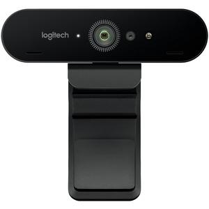 Logitech BRIO Webcam - 90 fps - USB 3.0 - 4096 x 2160 Video - Auto-focus - 5x Digital Zoom - Microphone - Notebook