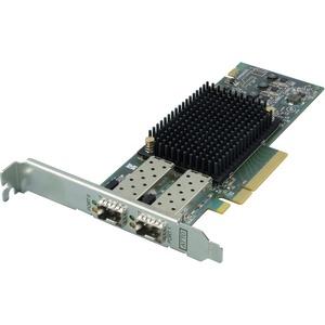 ATTO Dual-channel 16-Gigabit Gen 6 Fibre Channel HBA - PCI Express 3.0 x8 - 16 Gbit/s - 2 x Total Fibre Channel Port(s) - 2 x Total Expansion Slot(s) - SFP - Plug-in Card