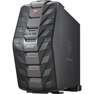Acer Aspire Predator G3-710 Desktop Computer - Intel Core i5 i5-7400 3 GHz - 16 GB DDR4 SDRAM - 1 TB HDD - 128 GB SSD - Windows 10 Home 64-bit - DVD-Writer DVD±R/±RW - NVIDIA GeForce GTX 1060 3 GB Graphics - Wireless LAN - Bluetooth - HDMI - 8 x