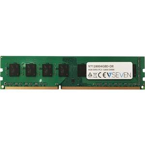V7 4GB DDR3 SDRAM Memory Module - 4 GB (2 x 2 GB) - DDR3 SDRAM - 1600 MHz DDR3-1600/PC3-12800 - Unbuffered - 240-pin - DIMM