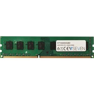 V7 4GB DDR3 PC3-10600 - 1333mhz DIMM Desktop Memory Module - V7106004GBD - 4 GB (2 x 2 GB) - DDR3 SDRAM - 1333 MHz DDR3-1333/PC3-10600 - Unbuffered - 240-pin - DIMM