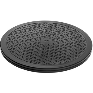 """Aleratec 12"""" Round Heavy Duty Swivel Rotating Stand with Steel Ball Bearings"""