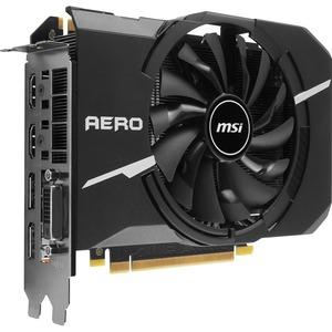 MSI GTX 1070 AERO ITX 8G OC GeForce GTX 1070 Graphic Card - 1.53 GHz Core - 1.72 GHz Boost Clock - 8 GB GDDR5 - PCI Express 3.0 x16 - 256 bit Bus Width - SLI - Fan Cooler - DirectX 12, OpenGL 4.5 - 2 x DisplayPort - 2 x HDMI - 1 x Total Number of DVI (1 x