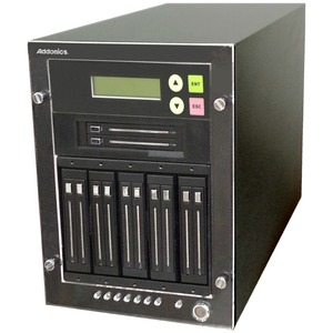 "Addonics 1:11 M2/mSATA/ 2.5"" HDD/SSD Duplicator - Standalone - Compact - 1 x Source Drive(s) Supported - 11 x Destination Drive(s) Supported - Serial ATA Drive Interface"