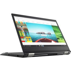 "Lenovo ThinkPad Yoga 370 20JH0029US 13.3"" Touchscreen LCD 2 in 1 Notebook - Intel Core i7 (7th Gen) i7-7600U Dual-core (2 Core) 2.80 GHz - 16 GB DDR4 SDRAM - 512 GB SSD - Windows 10 Pro 64-bit (English) - 1920 x 1080 - In-plane Switching (IPS) Technology"