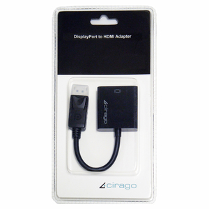 Cirago DisplayPort to HDMI Adapter (DPN1031)