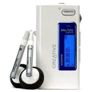 Creative MuVo Micro N200 256MB MP3 Player