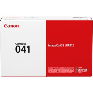 Canon 041 Original Toner Cartridge - Black - Laser - 10000 Pages