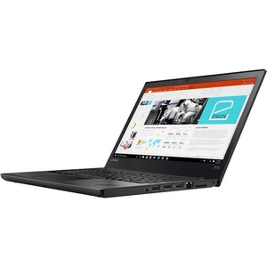 "Lenovo ThinkPad T470 20HD004BUS 14"" LCD Notebook - Intel Core i5 (7th Gen) i5-7300U Dual-core (2 Core) 2.60 GHz - 8 GB DDR4 SDRAM - 180 GB SSD - Windows 10 Pro 64-bit - 1920 x 1080 - In-plane Switching (IPS) Technology - Black - Intel HD Graphics 620 DDR4"