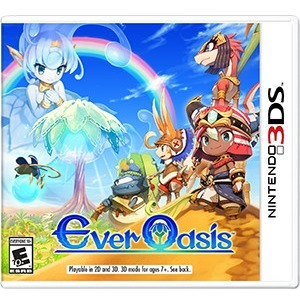 Nintendo Ever Oasis - Role Playing Game - Nintendo 3DS