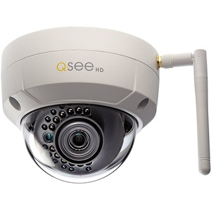 Q-see 3MP Wi-Fi Dome Security Camera - 100 ft Night Vision - 2048 x 1536 - 3.60 mm - Wireless - Dome