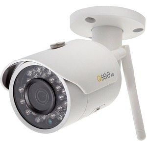 Q-see 3MP Wi-Fi Bullet Security Camera - 100 ft Night Vision - 2048 x 1536 - 3.60 mm - Wireless - Bullet