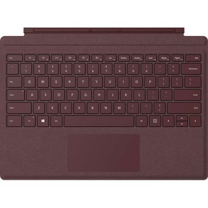 Microsoft Signature Type Cover Keyboard/Cover Case Tablet Burgundy FFP00041