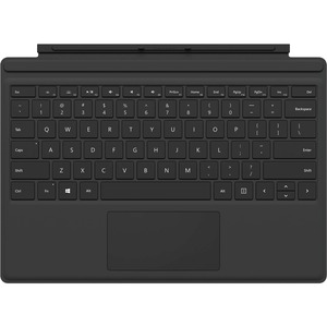 """Microsoft Type Cover Keyboard/Cover Case for Tablet - Black - Bump Resistant, Scratch Resistant - 0.2"""" Height x 11.6"""" Width x 8.5"""" Depth"""