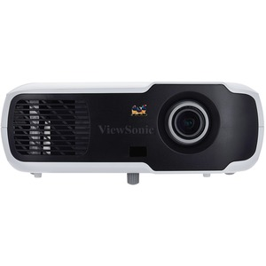 Viewsonic PA502S 3D Ready DLP Projector - 576p - EDTV - 4:3 - Front, Ceiling - 190 W - 4500 Hour Normal Mode - 15000 Hour Economy Mode - 800 x 600 - SVGA - 22,000:1 - 3500 lm - HDMI - USB - 240 W - 3 Year Warranty