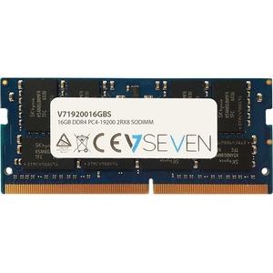 V7 16GB DDR4 SDRAM Memory Module - 16 GB - DDR4 SDRAM - 2400 MHz DDR4-2400/PC4-19200 - 1.20 V - Non-ECC - 260-pin - SoDIMM