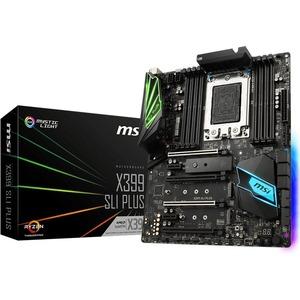 MSI X399 SLI PLUS AMD TR4 Threadripper DDR4 RGB ATX Desktop Motherboard