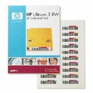 HP Ultrium 3 RW Bar Code Label Pack (Q2007A)