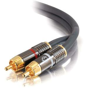 C2G SonicWave Dual Channel RCA Audio Interconnect Cable