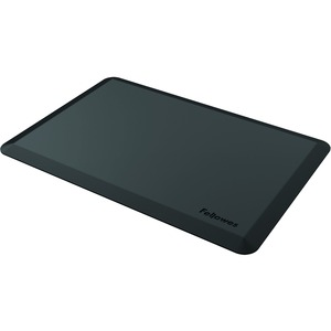 "Fellowes Anti-Fatigue Wellness Mat - Floor - 36"" Width x 24"" Depth - Rectangle - Black"