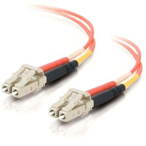 C2G 2m LC/LC Duplex 62.5/125 Multimode Fiber Patch Cable - Orange