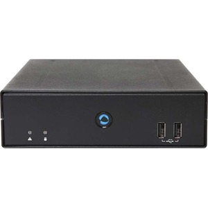 AOpen Digital Engine DE7400 Desktop Computer Intel Core i3 6th Gen i3-6100H 2.70 GHz 4 GB RAM DDR4 SDRAM 64 GB SSD Mini PC Black 791DEG000080