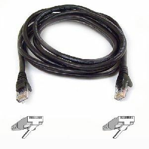 "Belkin Cat6 Cable - RJ-45 Male - RJ-45 Male - 12"" - Blue"
