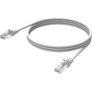 Vision Techconnect - Network cable - 6.6 ft - UTP - CAT 6 - Booted - White