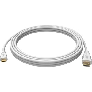 Vision Techconnect - HDMI with Ethernet Cable - 10ft - 4K Support - White