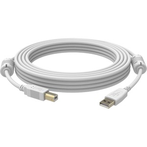 Vision Techconnect USB Cable Type B (M) to USB (M) - USB 2.0 - 3.3 ft - White