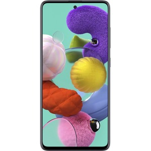 "Samsung Galaxy A51 128 GB Smartphone 6.5"" Full HD Plus 4 GB RAM Android 10 4G Prism Crush Black SMA515UZKNXAA"