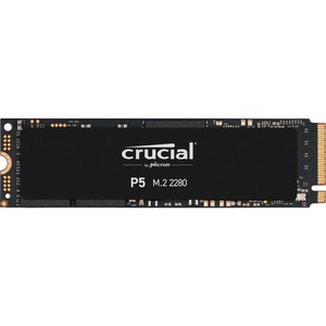 Crucial P5 CT2000P5SSD8 2 TB Solid State Drive M.2 2280 Internal PCI Express NVMe PCI Express NVMe 3.0 1200 TB TBW 3400 MB/s Maximum Read Transfer Rate 5 Year Warranty