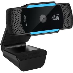 Adesso CyberTrack H5 1080p HD Auto Focus USB Webcam w/ Dual Microphone