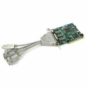 StarTech.com 4 Port PCI RS422 RS485 Serial Adapter Card