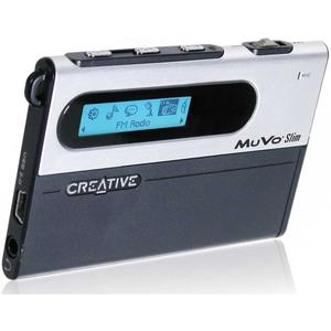 Creative MuVo Slim 256MB Flash MP3 Player