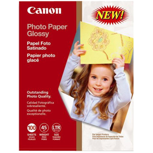 Canon 0775B024 PAPER, CANON, PHOTO PAPER GLOSSY, Print Media