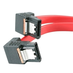 StarTech.com 24in Right Angle Latching SATA Serial ATA Cable