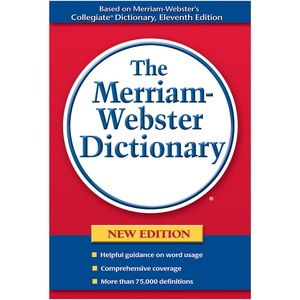 Merriam-Webster Paperback Dictionary