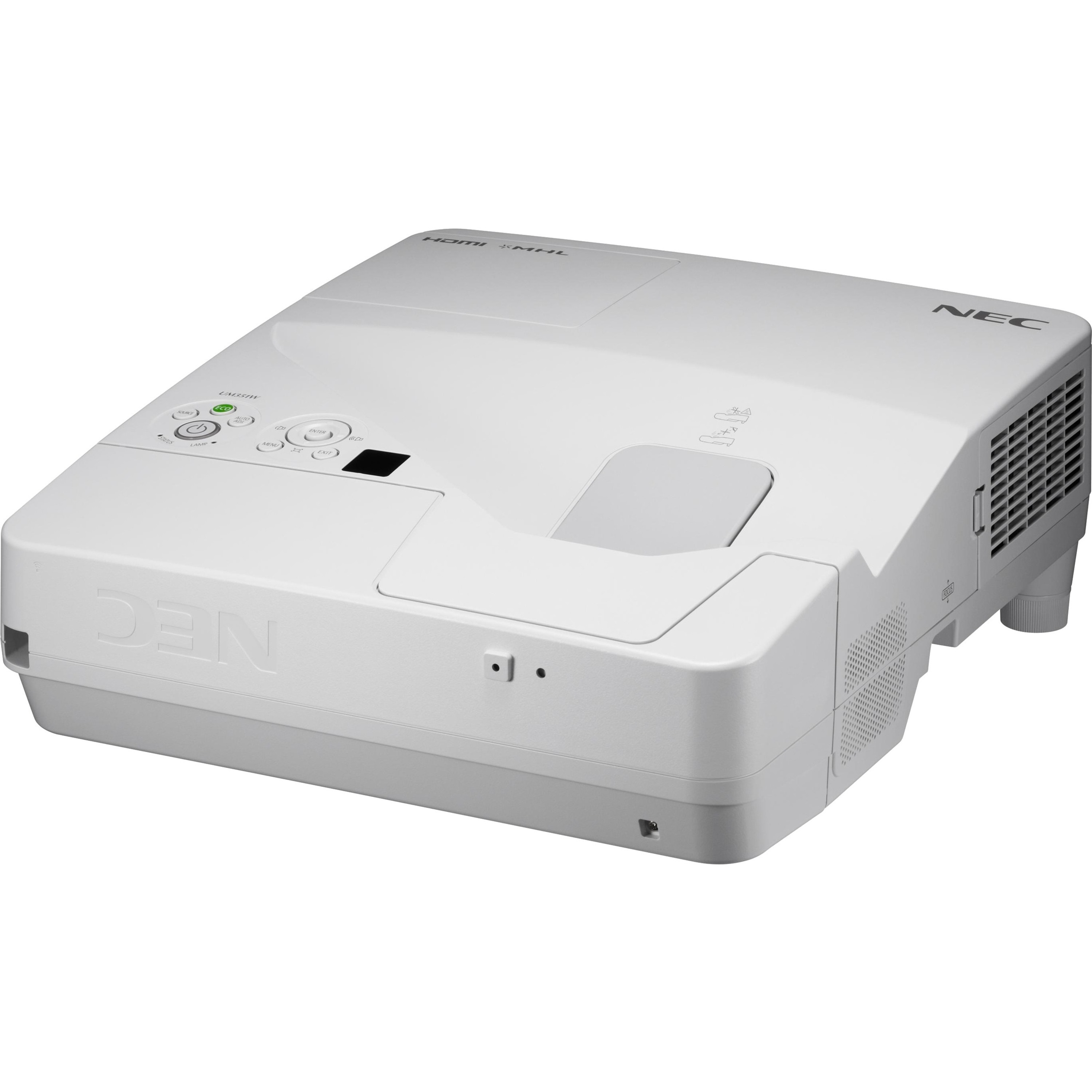 NEC Display NP-UM351W LCD Projector - White_subImage_1