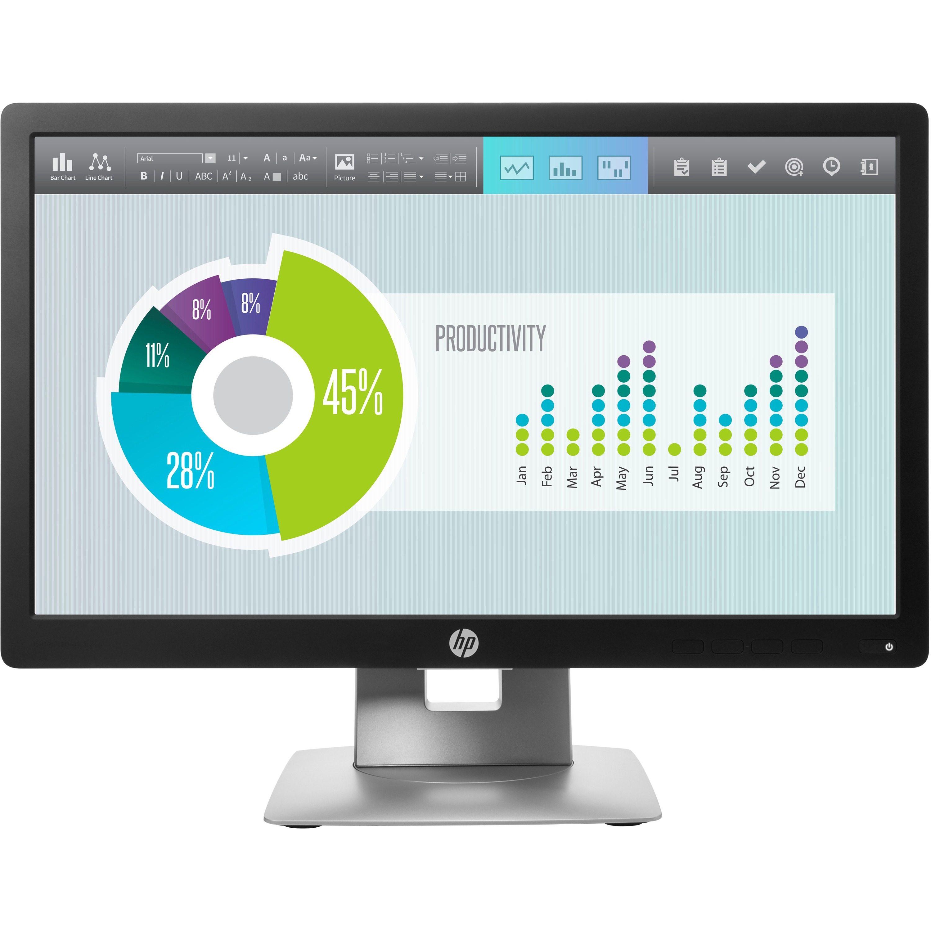 """HP Business E202 20"""" HD+ LED LCD Monitor - 16:9_subImage_1"""