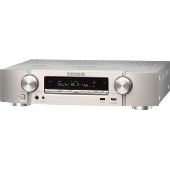 Marantz NR1508 Ultra-Slim 5.2 Channel Network AV Receiver with HEOS Music Streaming