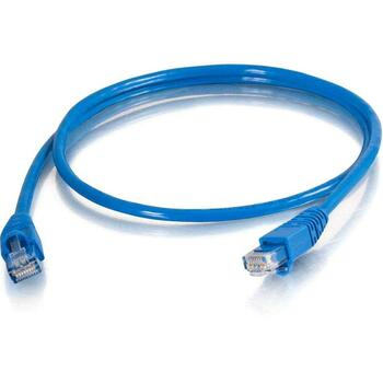 25ft Cat5e Snagless Unshielded UTP Network Patch Cable Blue