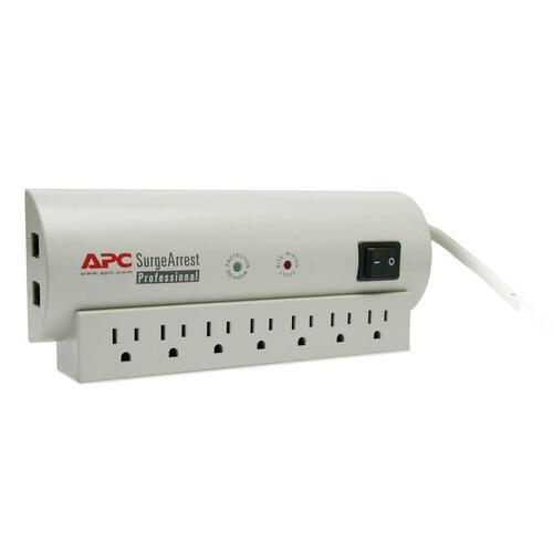 APC SurgeArrest Professional 7 Outlet w/Tel 120V