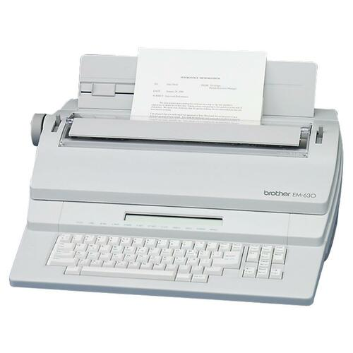 Brother EM-630 Electronic Typewriter with Display