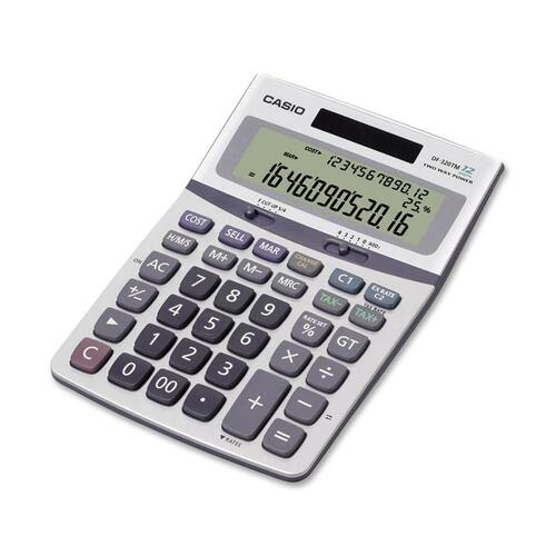 Casio DF-320TM Desktop Calculator